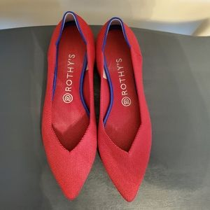 Rothy's The Point Flat Shoe